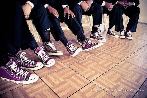 purple wedding sneakers