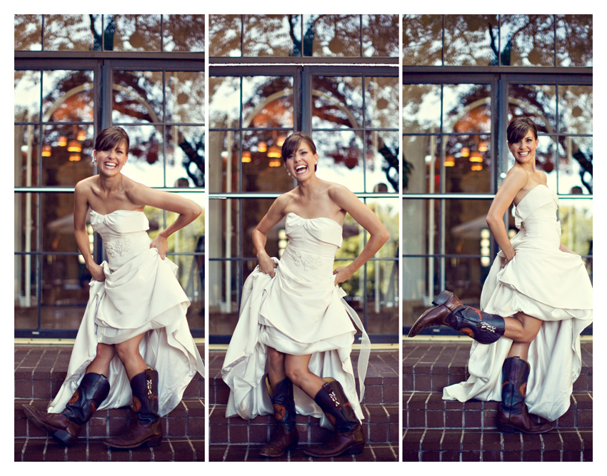 Wedding blog bridal cowboy boots for Dresses to wear to a wedding with cowboy boots