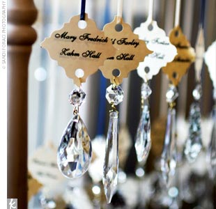 crystal wedding details