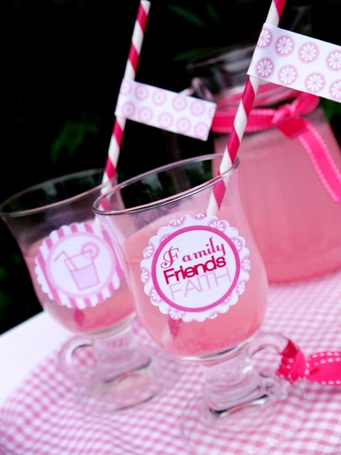 pink lemonade wedding