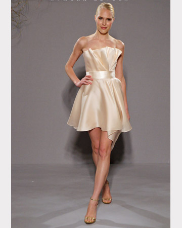 cream bridesmaid dress