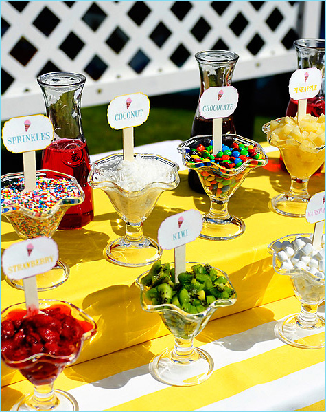 ice cream buffets