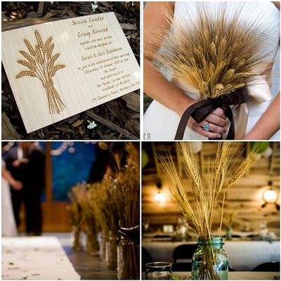 wheat wedding details