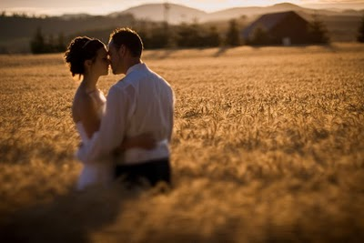 wheat wedding theme