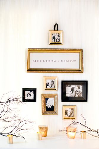 wedding picture displays