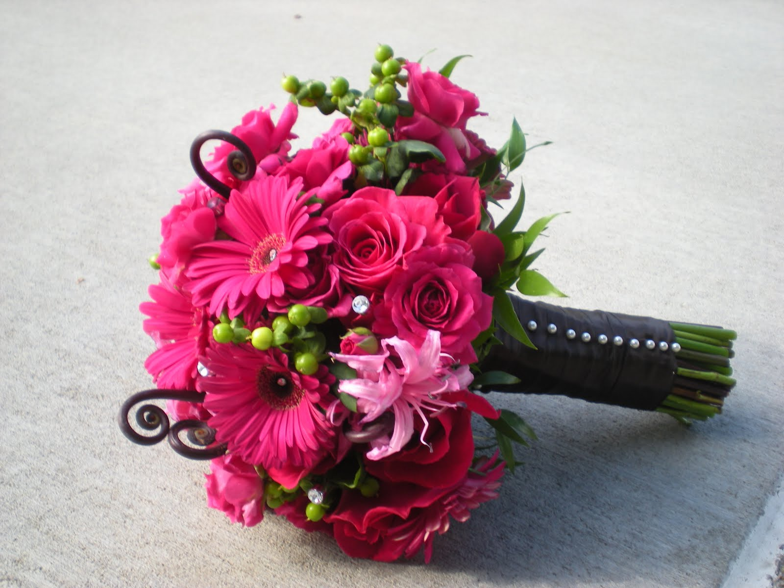 Wedding Blogs Bouquet Inspiration Nerine Lilies