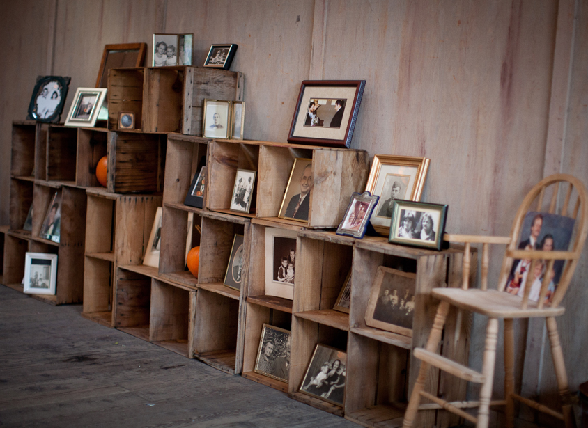 wood photo display