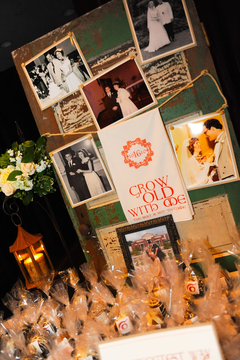 Wedding blogs photo displays
