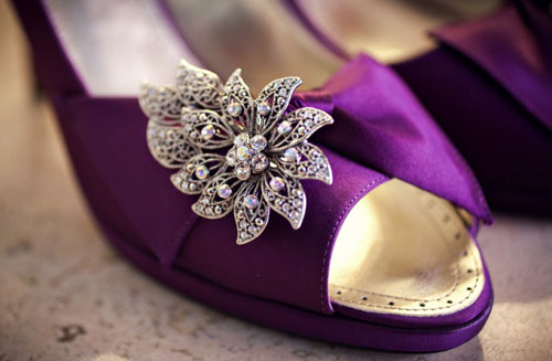 Wedding Shoes Purple Bridal Heels The Purple Bridal Shoe