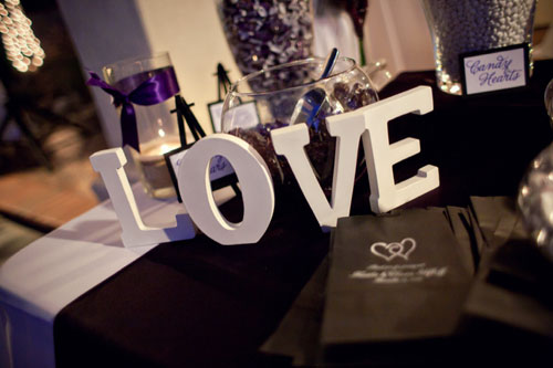 wedding letter decor