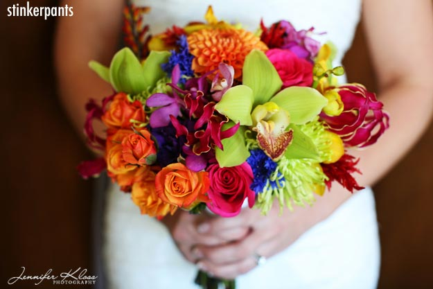 Wedding Bouquets With Rainbow Roses : Forbidden
