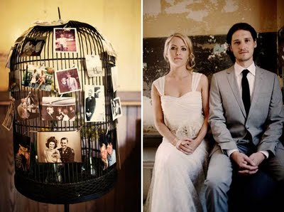 wedding photos birdcage