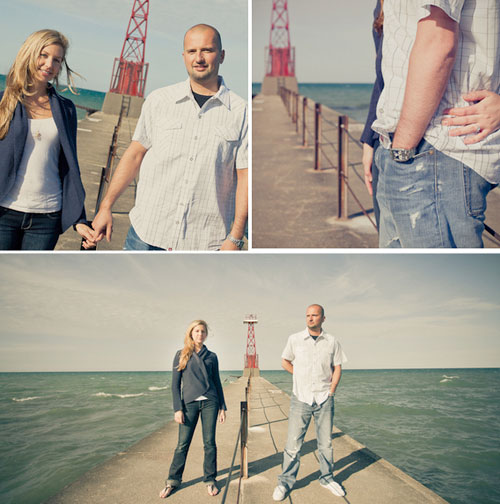 engagment pictures by the water
