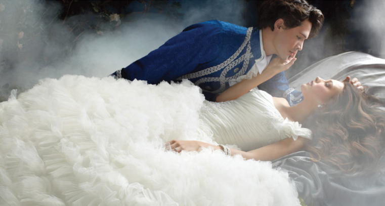 Sleeping Beauty wedding gown