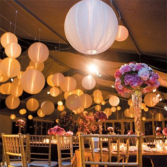 Wedding Blogs: Round Wedding Details & Decor