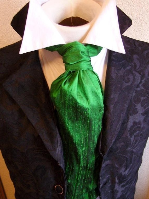 green groom attire
