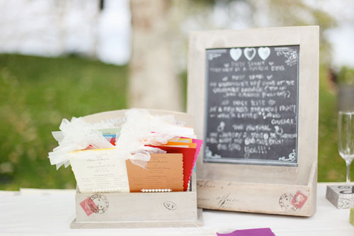 cute wedding details
