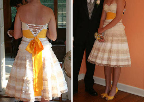 DIY wedding dress tutorials