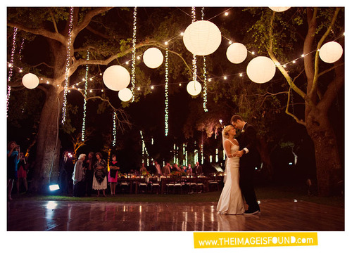 Wedding Blog: Hanging Lights