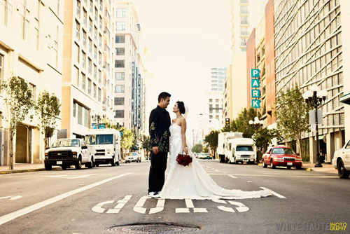 city wedding photography