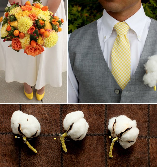 cotton wedding details