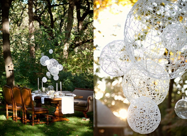 Wedding Outside Decorations Pictures : Diy outdoor wedding decor decorations romantic decoration