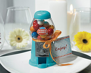 gumball wedding favors