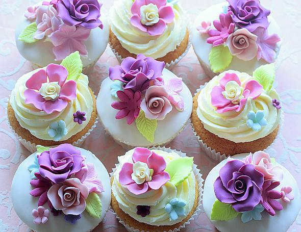 Cupcake Design For Wedding : Wedding Inspiration: Cupcakes!