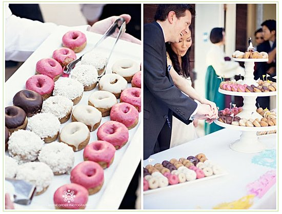 wedding donuts desserts