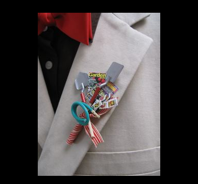 personalized boutonnieres