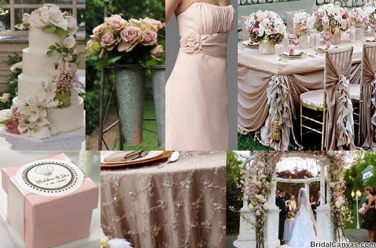 pink champagne wedding inspiration