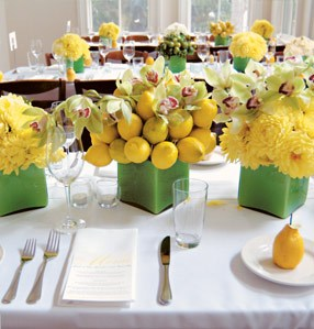 Wedding Flowers: Yellow Inspiration