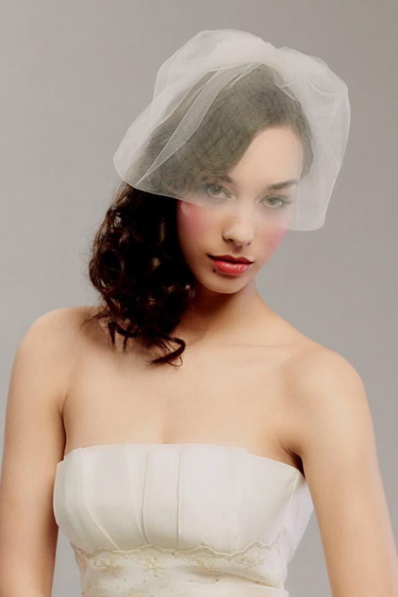 short wedding veils