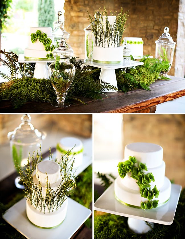 wedding decor greenery inspiration