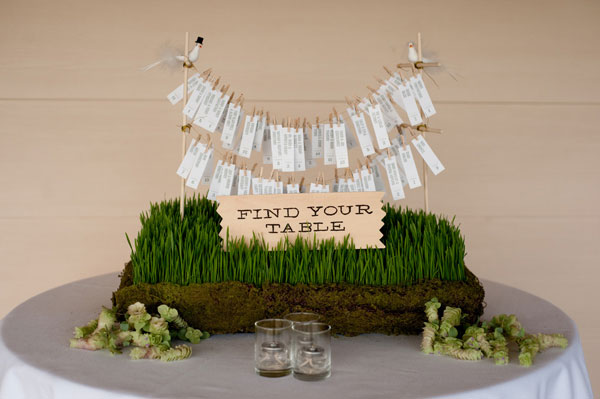 grass wedding details