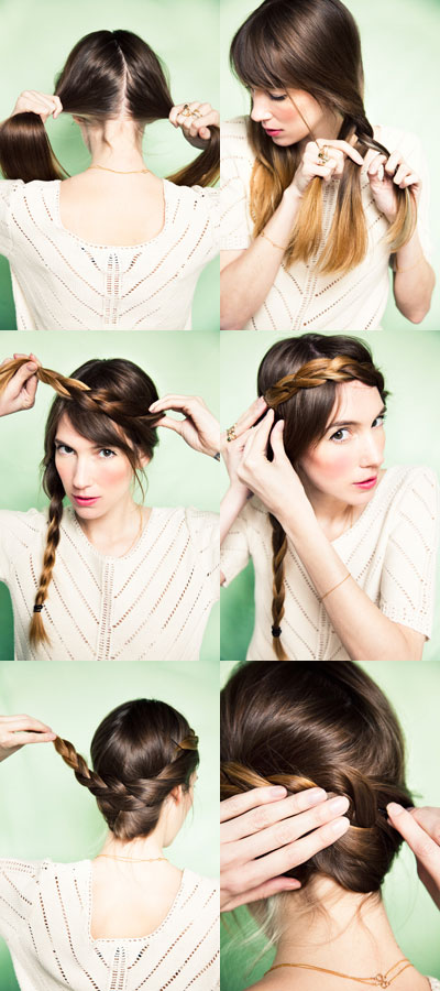 diy braided hair tutorial