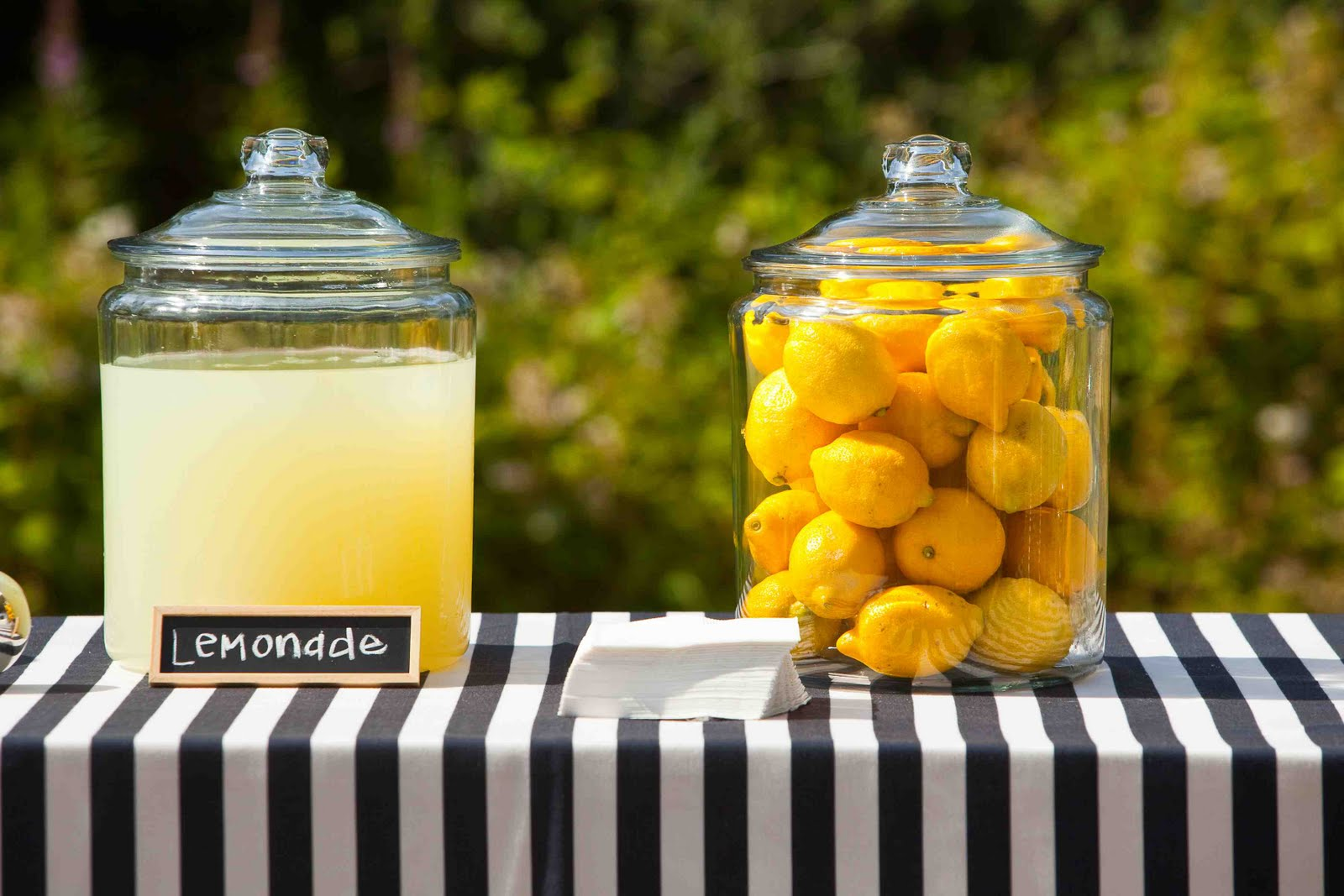 lemonade wedding