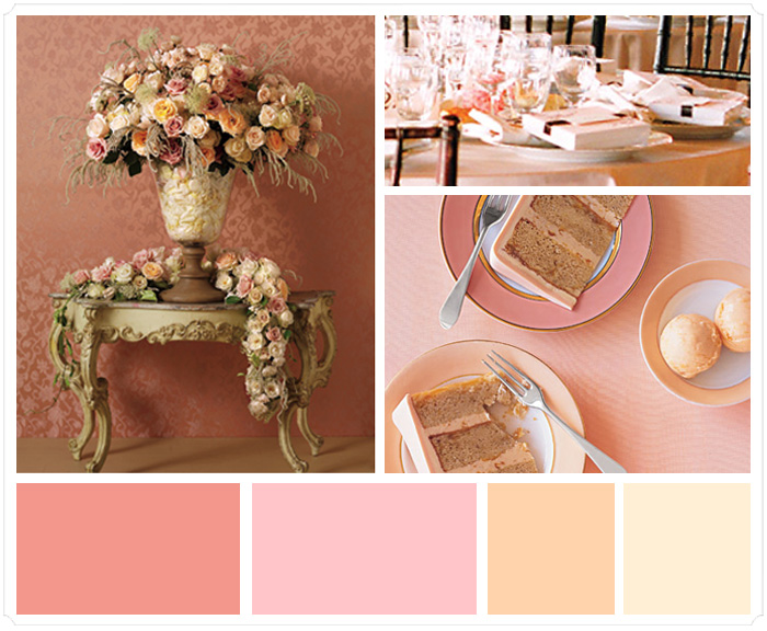 pink champagne wedding