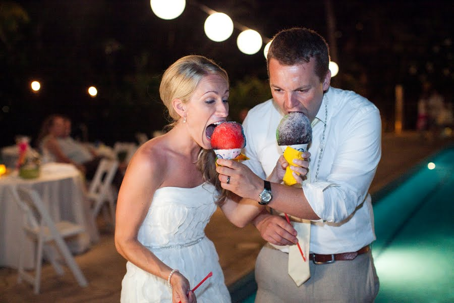 snow cone weddings
