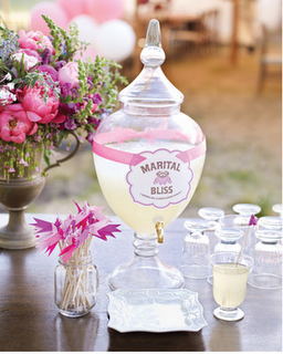 lemonade at weddings