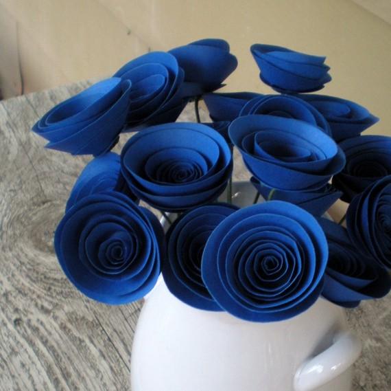 Blue wedding decorations romantic decoration