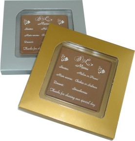 chocolate save the dates