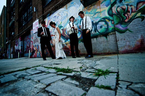 wedding grafiti pictures