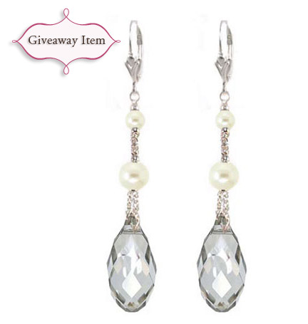 bridal earrings giveaway