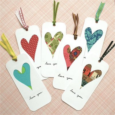 bookmark wedding favors