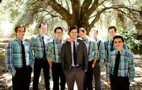 plaid groomsmen shirts