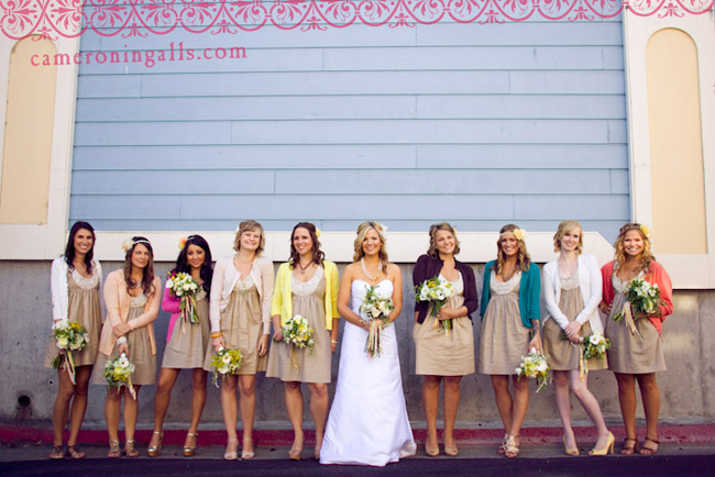 bridesmaid cardigans