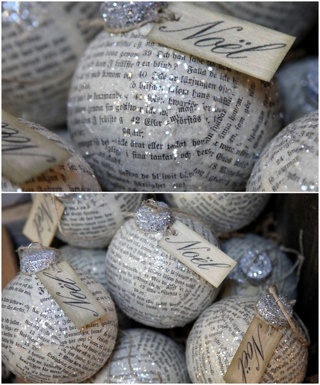 diy wedding ornaments