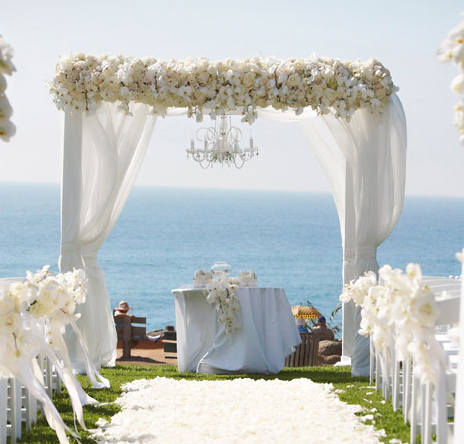 Wedding decor canopy and arch inspiration for Arch wedding decoration ideas