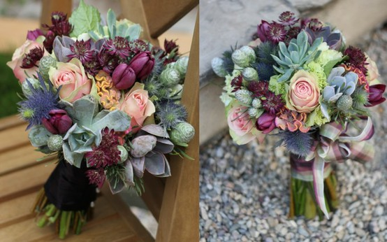 2012 wedding bouquet trends